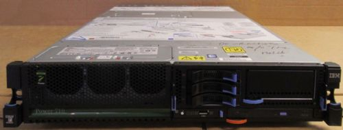 IBM Power 710 8231-E1D 1x Quad Core Power7+ 3.6GHz 220GB 8GB DVD RW 2U Server